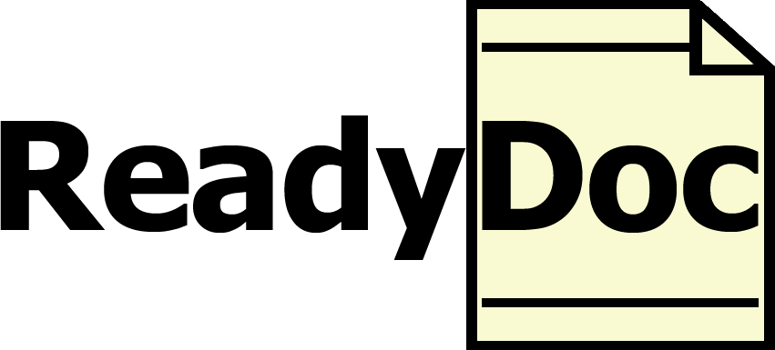 ReadyDoc Logo